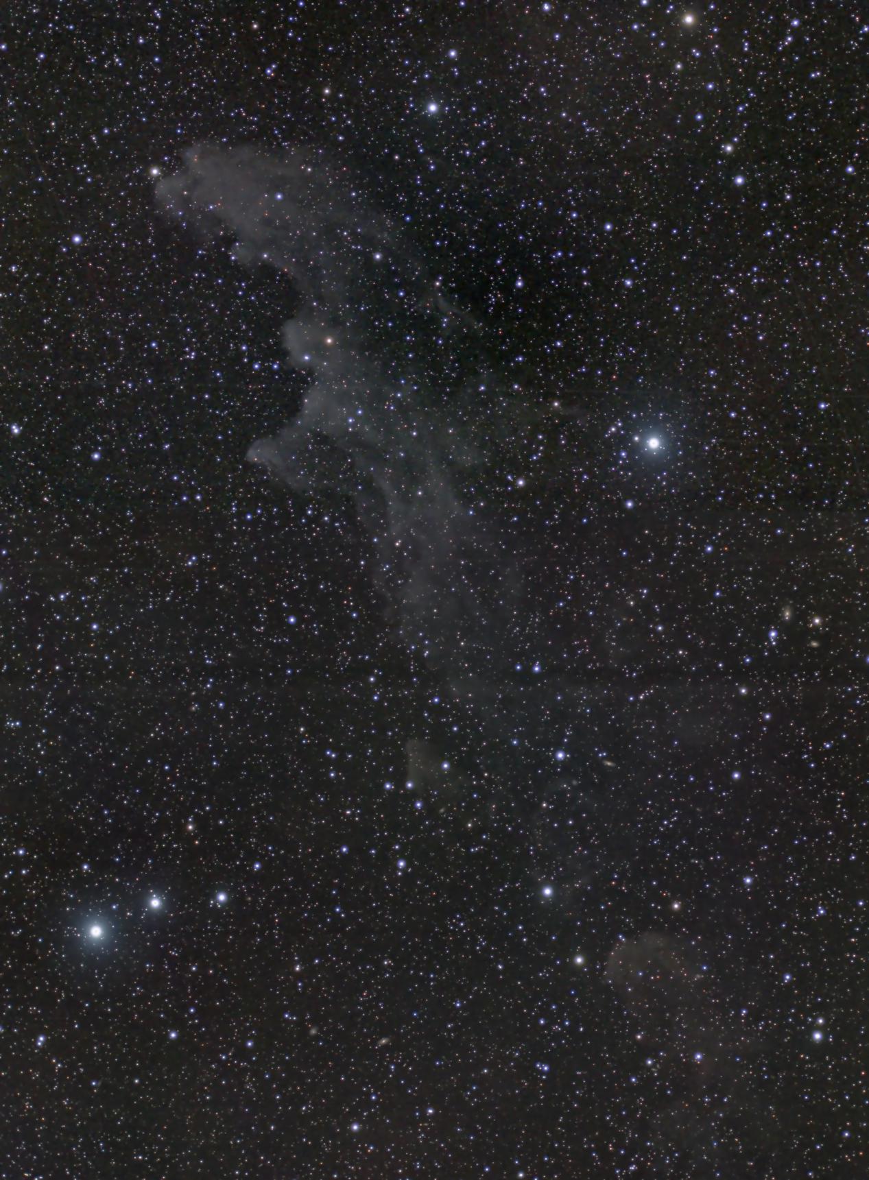 Witches Head nebula