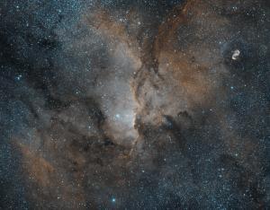 NGC 6188 Ha OIII