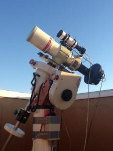 Sternwarte mit Fornax 51